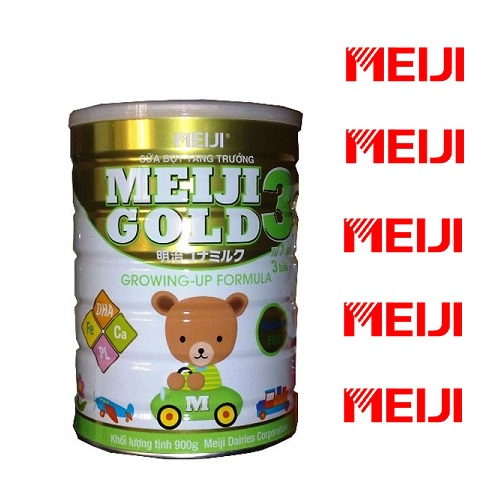 Sữa  Meiji Gold 3 Growing Up Formula 900gr
